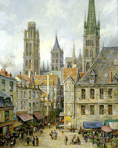 Market Place, Rouen