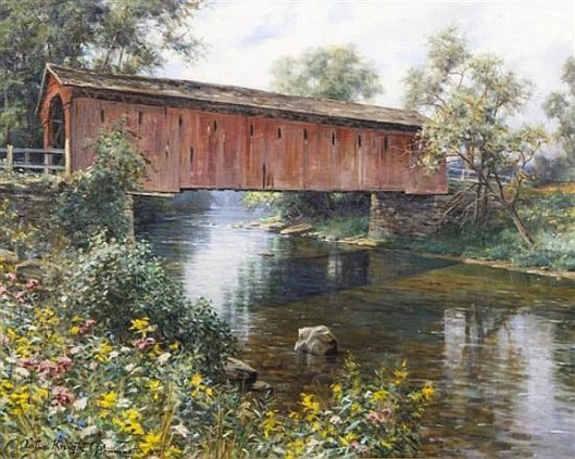 Old Covered Bridge, Vermont