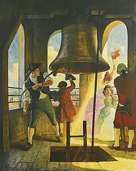 Ringing Out Liberty - July 8, 1776, Philadelphia