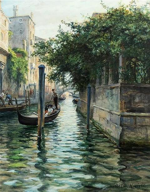 Rio San Trovaso, Venice