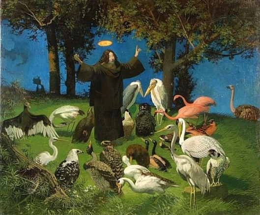 St. Francis - Preaching To The Flock