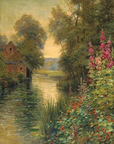 Summer Day Along A River