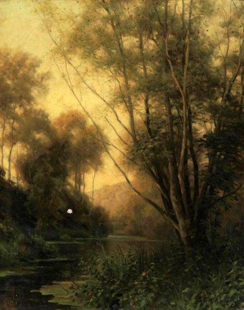 Sunset, Beaumont-le-Roger