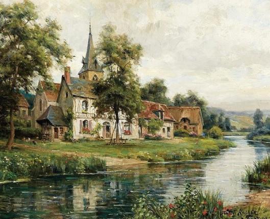 The Village Of Saint Gertrude - St. Gertrude Church