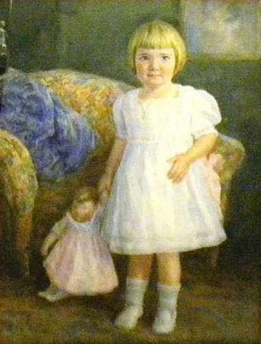 Young Girl With Doll