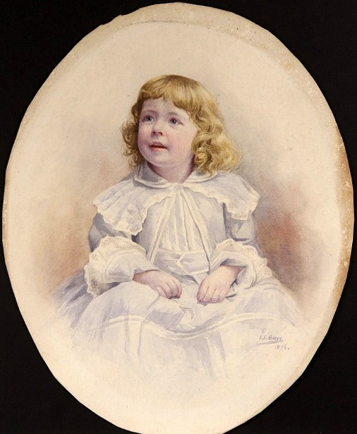 Young Miss Helen Prescott of Waltham, Mass.