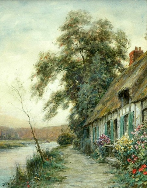 A Cottage By The River