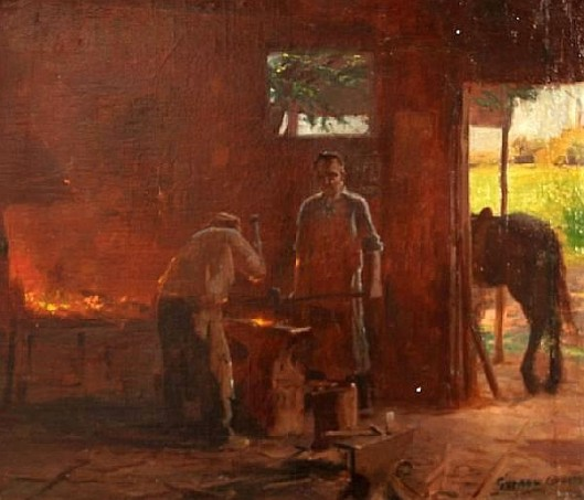 Blacksmiths At Work