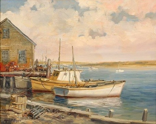 Boats On Aunt Lydia's Cove, Chatham, Massachusetts