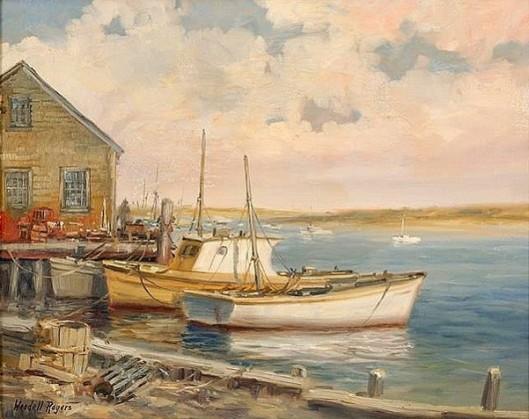 Boats On Aunt Lydia's Cove, Chatham, Massachusetts