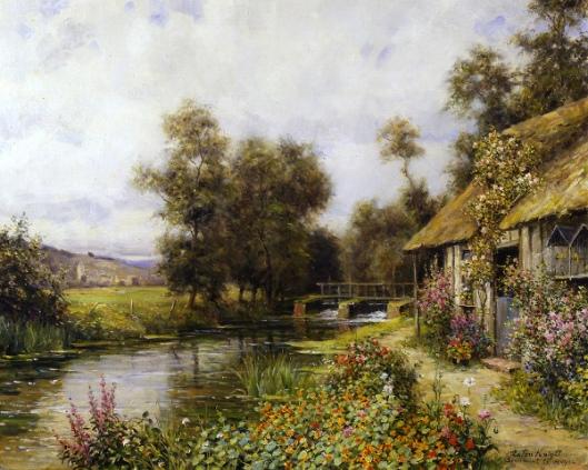 Cottage Garden At Martigny