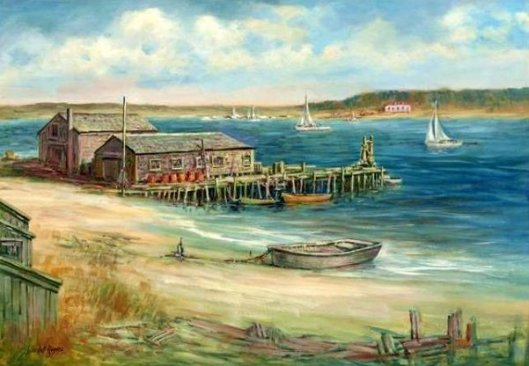 Crowell's Wharf, Stage Harbor, Chatham