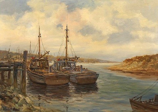 Fishing Boats At Orleans