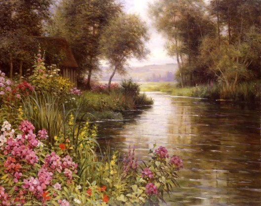 Flowers By The Edge Of The River