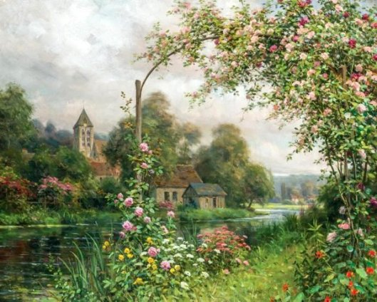 Flowers Along The River