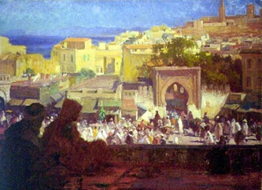 From My Studio, Tangier