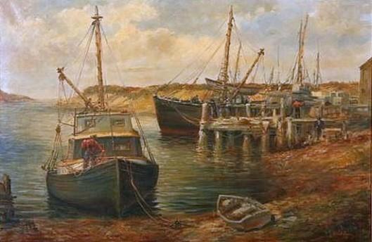 Gloucester Harbor Dock