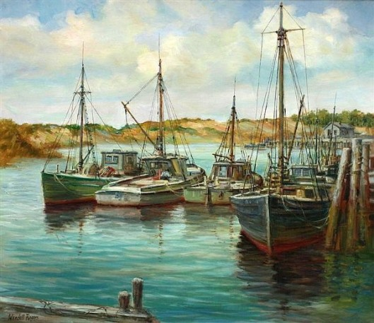 Harbor On The Oyster River, Chatham