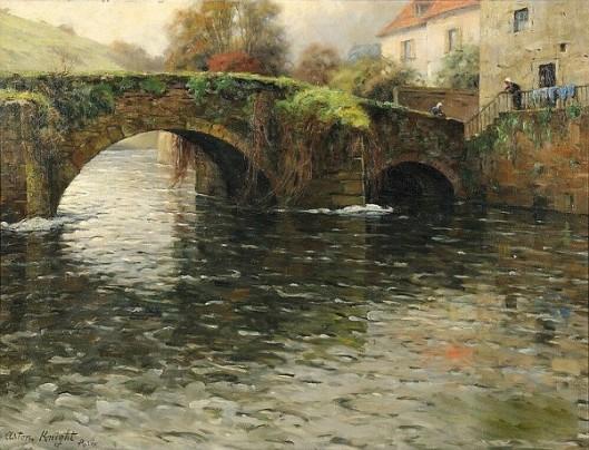 Old Bridge At Quimperle