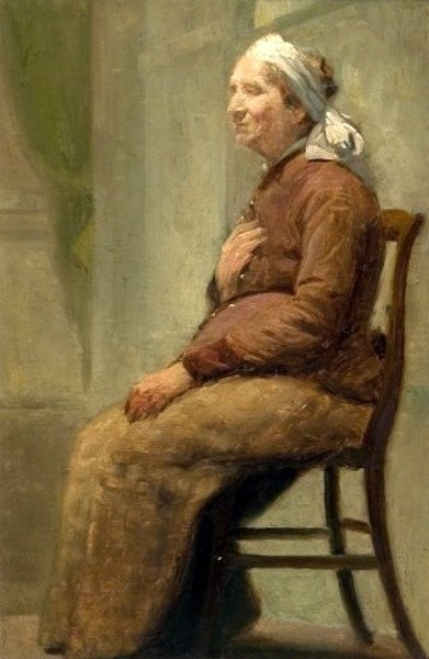 Old Peasant Woman