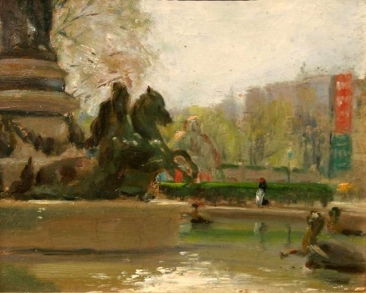 Parisian Fountain
