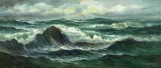 Seascape With Ocean Waves