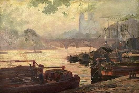 Seine With Notre Dame