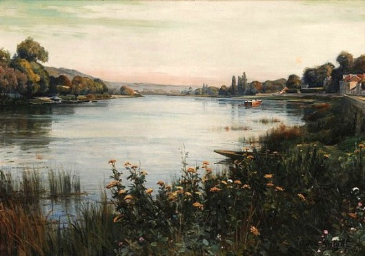 The Seine Near Paris