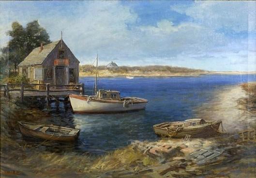 Three Boats And A Shack