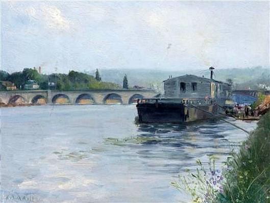 Wash Barge, Argenteuil-sur-Seine