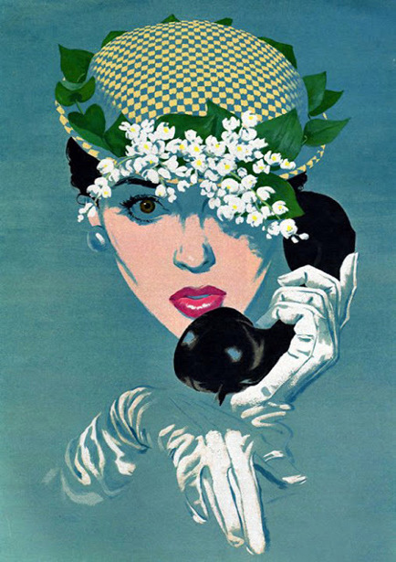 Woman At The Telephone