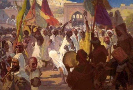 Ashura Rituals, Tangiers