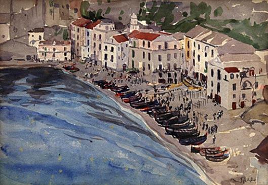 Boats Ashore, Italy