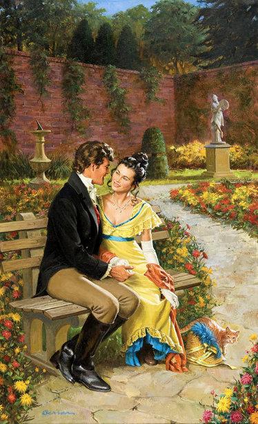 Courtyard Lovers