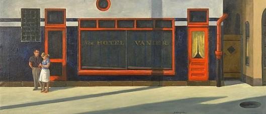 Hotel Back Door