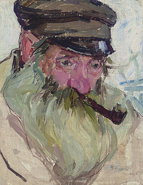 Old Jew With Pipe