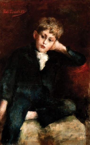 Portrait Of A Boy (possibly the Artist's son)
