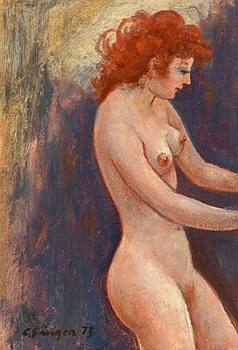 Red Haired Nude