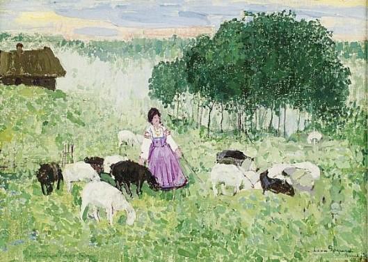 Russian Shepherdess