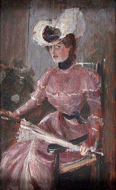 Sketch Of Lulu Morris
