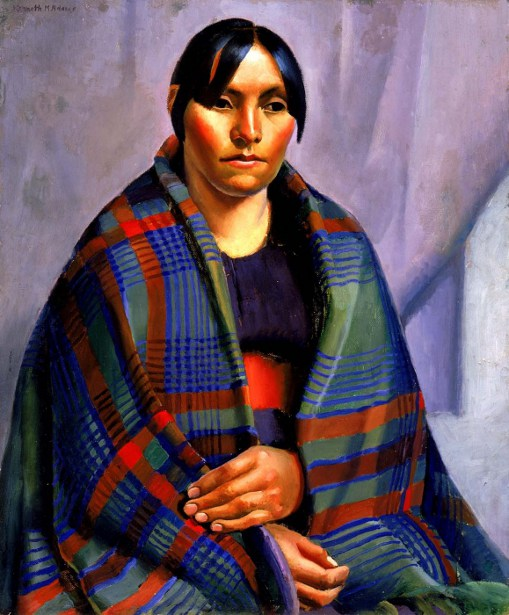 Taos Indian Woman
