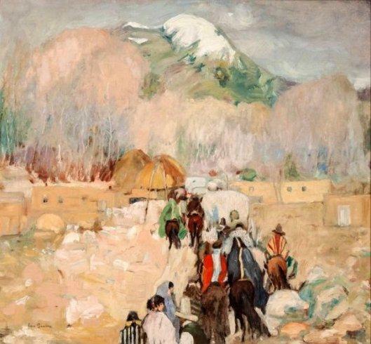 Taos Procession