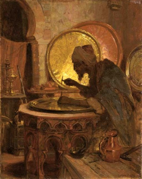 The Moroccan Engraver