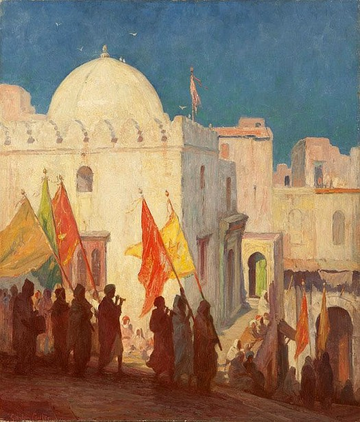 The Procession, Tangiers