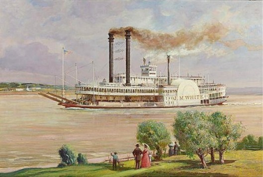 The Steamer J. M. White