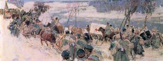Troops In Winter