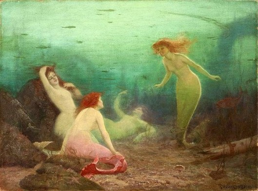 Under Sea Gossips - Mermaids