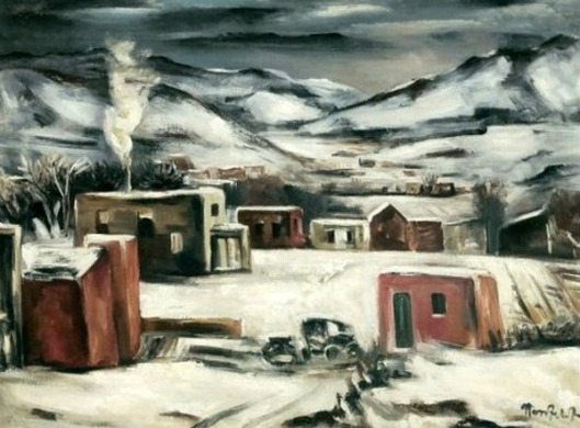 Winter Scene At Santa Fe