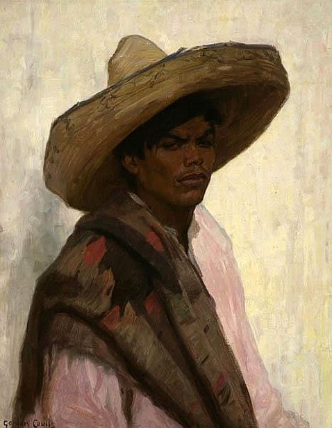Young Boy In A Sombrero