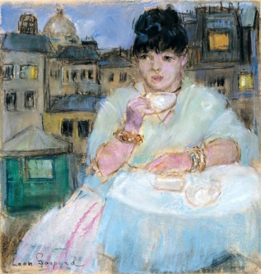 Dora In Paris (Dora Kaminsky, The Artist's Second Wife)